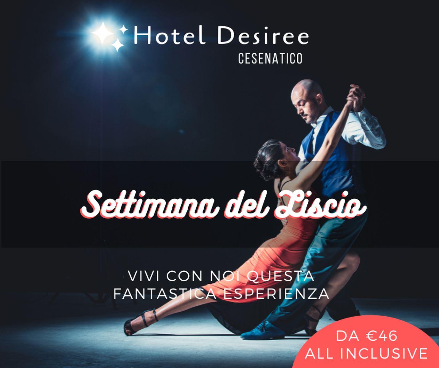 Hotel Desiree Cesenatico – Settimana del Liscio a Gatteo Mare